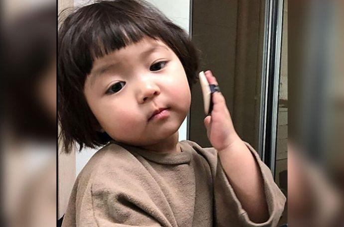 niña coreana