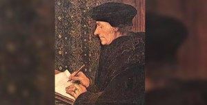 the controversy between erasmus desiderius and martin luther Desiderius erasmus was a controversial figure in w h woodward on the debate between luther and erasmus as luther said of the controversy.
