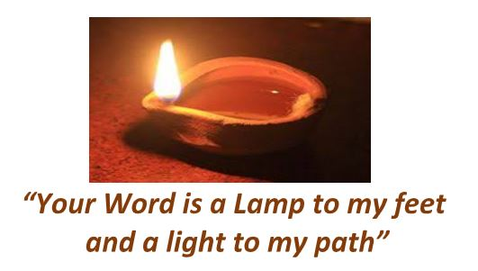 """Our theme for 2020 """"Your word is a Lamp to my feet and a light to my path"""""""