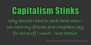 Capitalism, Statism, meme, taxation is theft