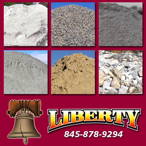 Liberty Bell Trucking - Carmel. New York - Trucking. Sand & Salt. Low Bed Service. Drainage Stone. Road Base. Item 4. Dirt/Fill and Driveway ...