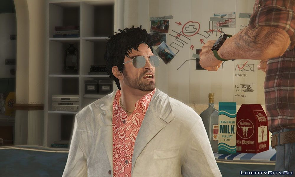 Tony Montana Costume From The Movie Scarface For Gta 5