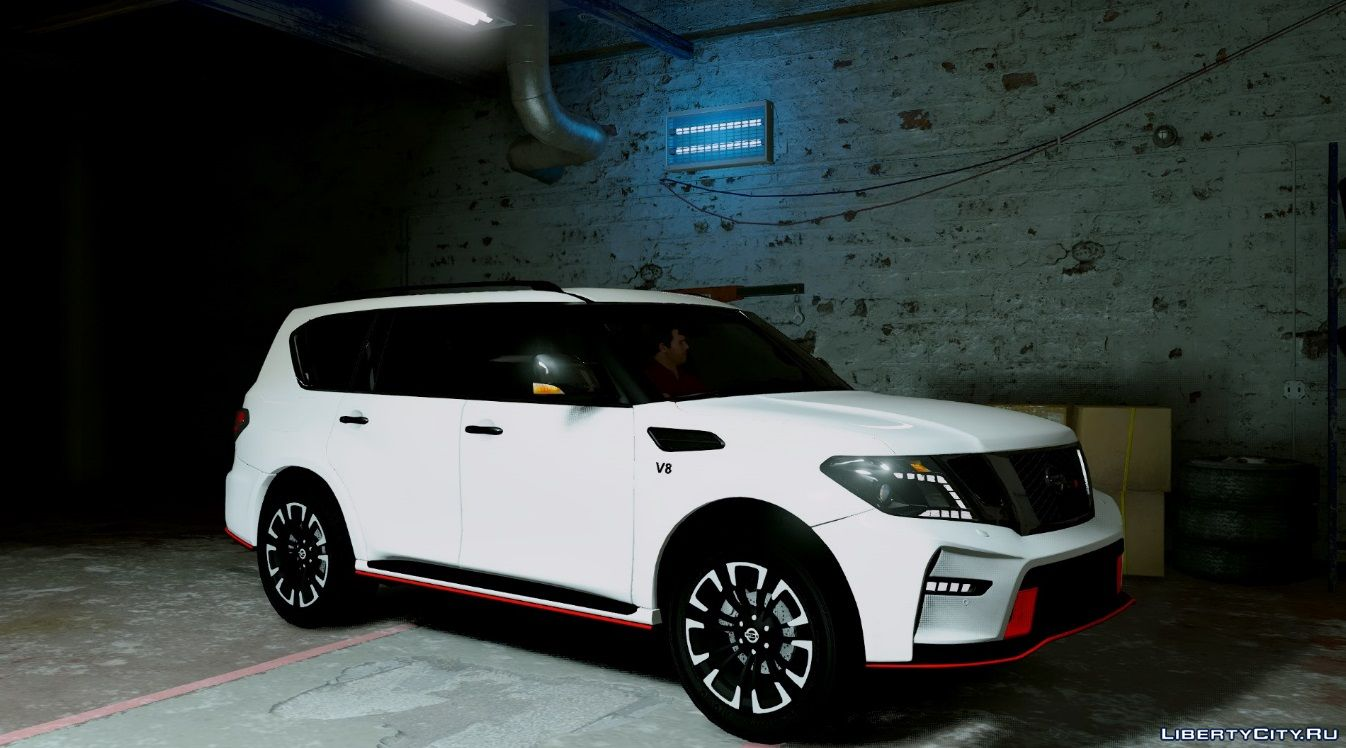 Nissan Patrol Nismo Add On Replace V1 For GTA 5