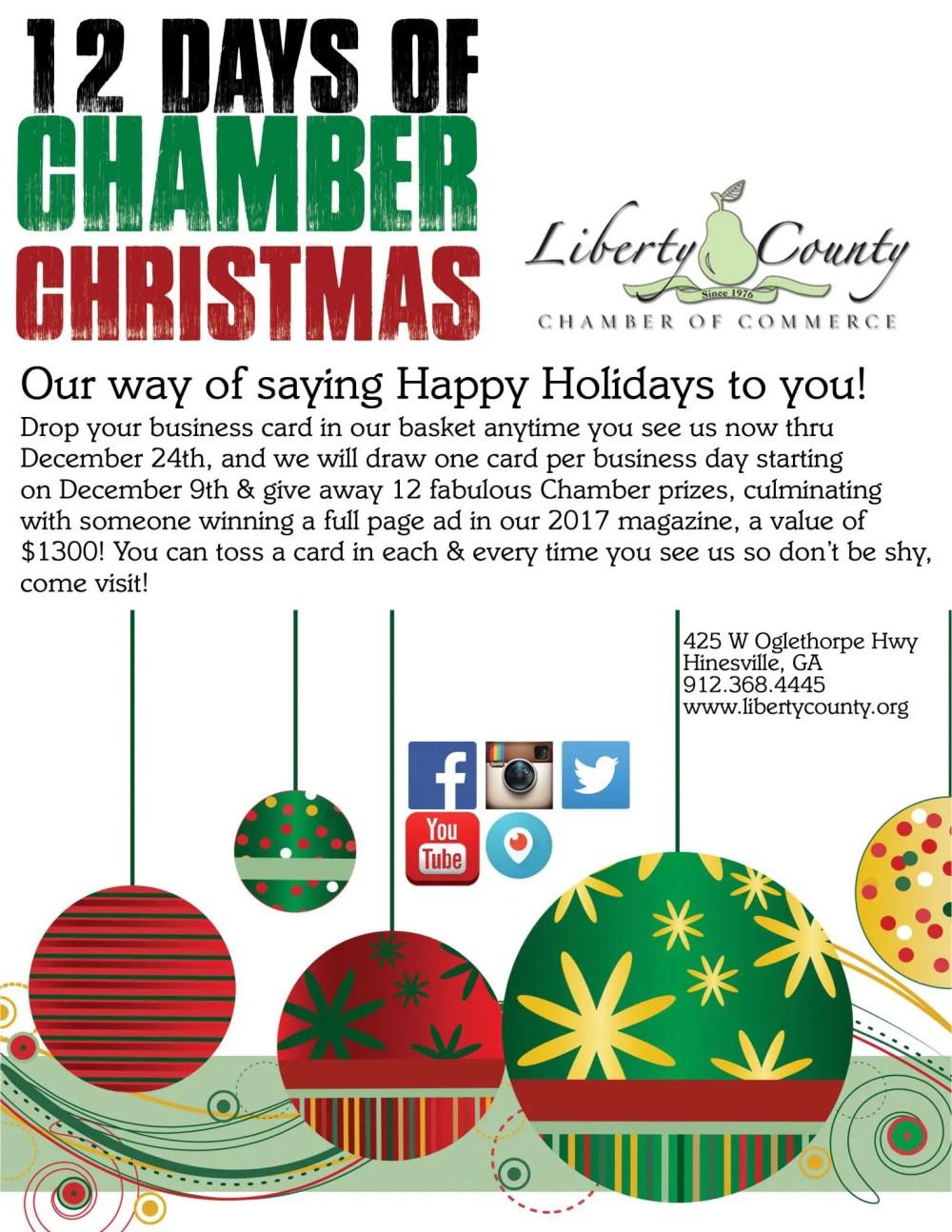 medium resolution of 12 days of chamber christmas