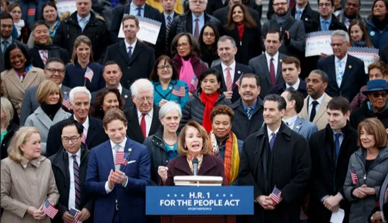 Democrats pass the Anti-Corruption Bill thru the House of Representatives