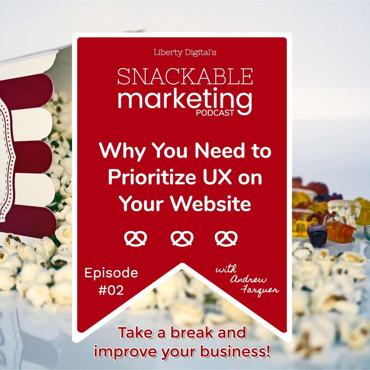 prioritize ux