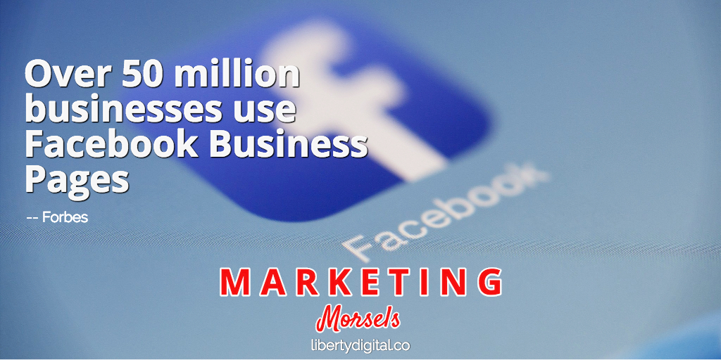 Businesses Use Facebook Business Pages