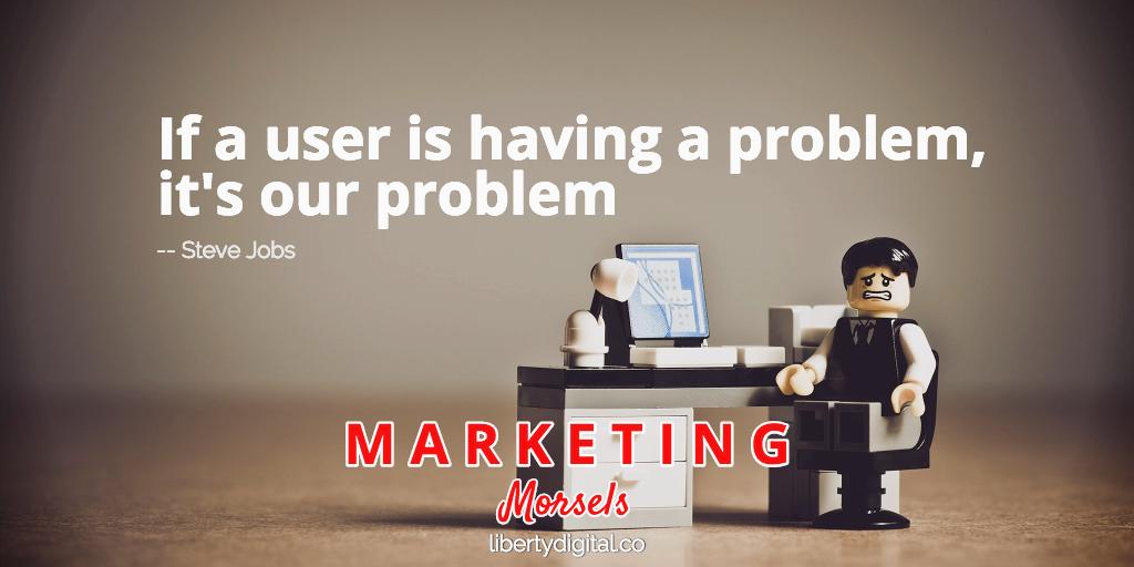 user problems