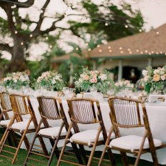 Renting Folding Chairs Gold Glitter Chair Covers Bamboo Liberty Event Rentals Spotlight