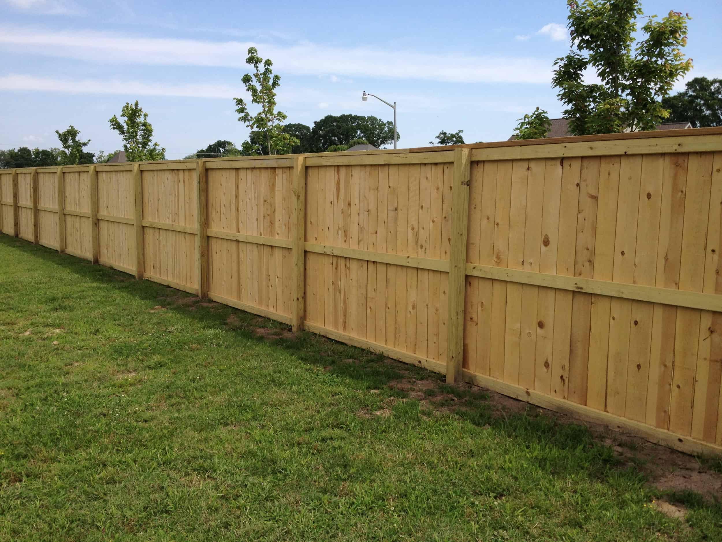 wood fences liberty fence