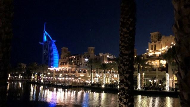 Picture of Burj Al Arab Hotel Dubai and Dubai shopping center 2020