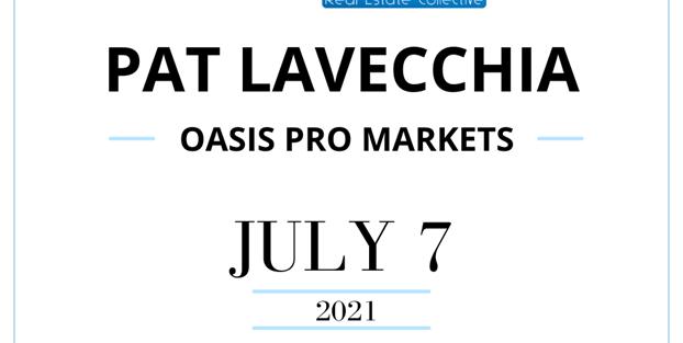 Picture of Chicago Blockchain Real Estate Event Announcement featuring Pat LaVecchia of Oasis Pro Markets.