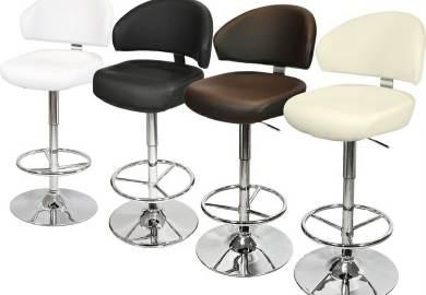Black Bar Table And Stools