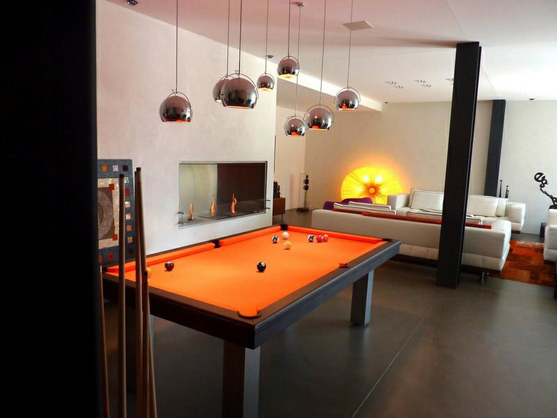 Billard Toulet Loft Snooker Table - 9 Ft, 10 Ft