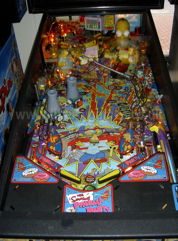 The Simpsons Pinball Party Pinball Machine  Liberty Games