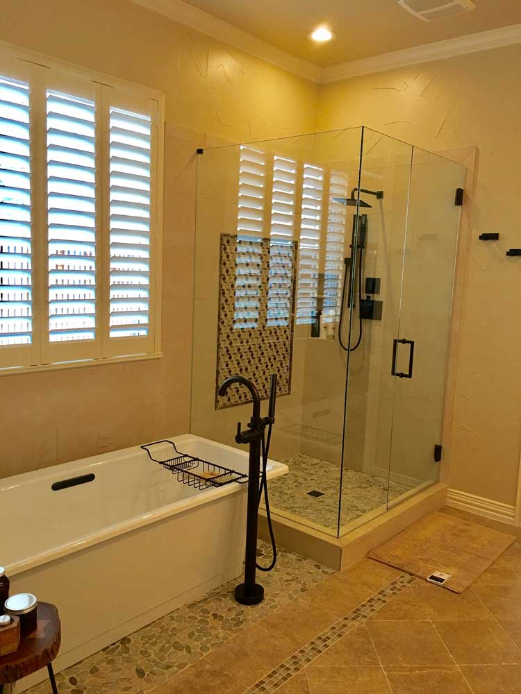 Custom Glass Showers Mirrors Glass  Liberty Glass