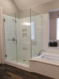 Custom Glass Showers, Mirrors, Glass | Liberty Glass ...