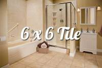 6x6 Acrylic Bathroom Walls - Liberty Home Solutions, LLC