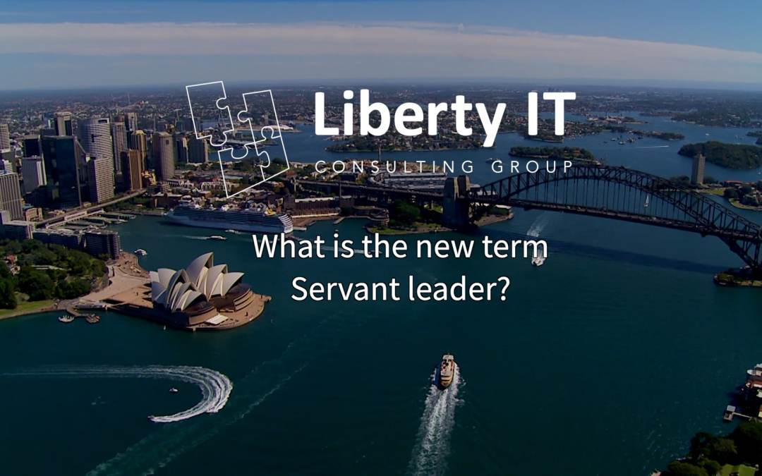 What is the new term Servant Leader?