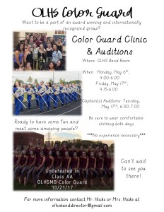 Color Guard Poster