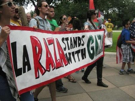 """""""La Raza Stands With Gaza"""""""