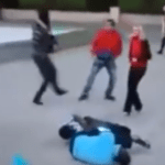 VIDEO: Audience Cheers As Four Immigrants Get Major Beat-Down For Touching His Wife