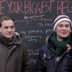 VIDEO: Fascinating 'What's Your Biggest Regret?' Chalkboard In NYC