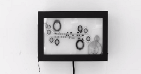 This Chaotic Clock Is Made From String