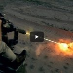 50 Rounds Per Second, Six-Barrel Rotary Machine Gun In Action