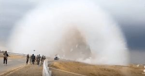 VIDEO: Terrifying Car Bomb Creates Double Shockwave In Iraq