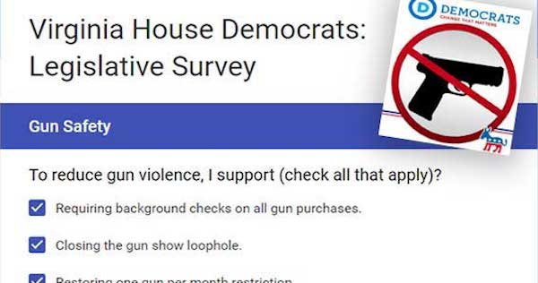 Virginias-Democrats-Anti-Gun-Legislative-Survey crop