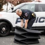 BYU's Amazing Bullet-Proof Origami: Folding Kevlar Shield Protects Police Officers From Even The Big Guns