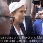 France's Marine Le Pen Walks Out On Grand Mufti After Refusing To Wear Muslim Headscarf