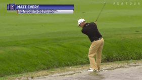 Impossible IN THE WATER Golf Shot You Would Never Believe! [VIDEO]