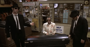 "Daring Thieves Bombard Gun Store After Watching ""Blues Brothers"" Movie"