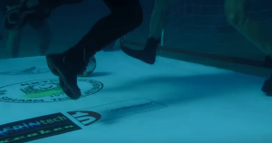 Soccer At The Bottom Of The Ocean? Watch Out For Sharks!