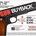 'Gun Buyback' Notice Pulled by Facebook; Karma, Perhaps?