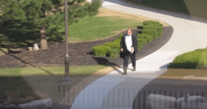Man Encounters The Unexpected Walking To Work