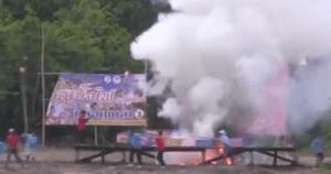 GARGANTUAN FIREWORK LAUNCH That Seemed Sure To Kill Everyone Is . . . AMAZING!!!