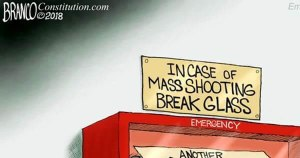 BRUTAL CARTOON Illustrates Democrats Mass Shooting Playbook