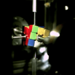 Don't Blink- Robot Solves Rubik's Cube