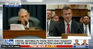 GOWDY ROASTS STRZOK: Tears Him Up In Hostile Testimony Battle