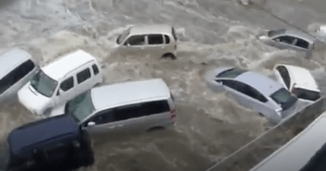 I'VE NEVER SEEN ANYTHING LIKE IT: First A Trickle Then Instant Flood Destroys The Entire City