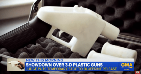 Judge Extends Order v. 3-D gun printing information online