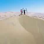 Extreme Sand Skiing- Who Needs Snow?