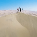 Extreme Sand Skiing- Who Needs Snow?