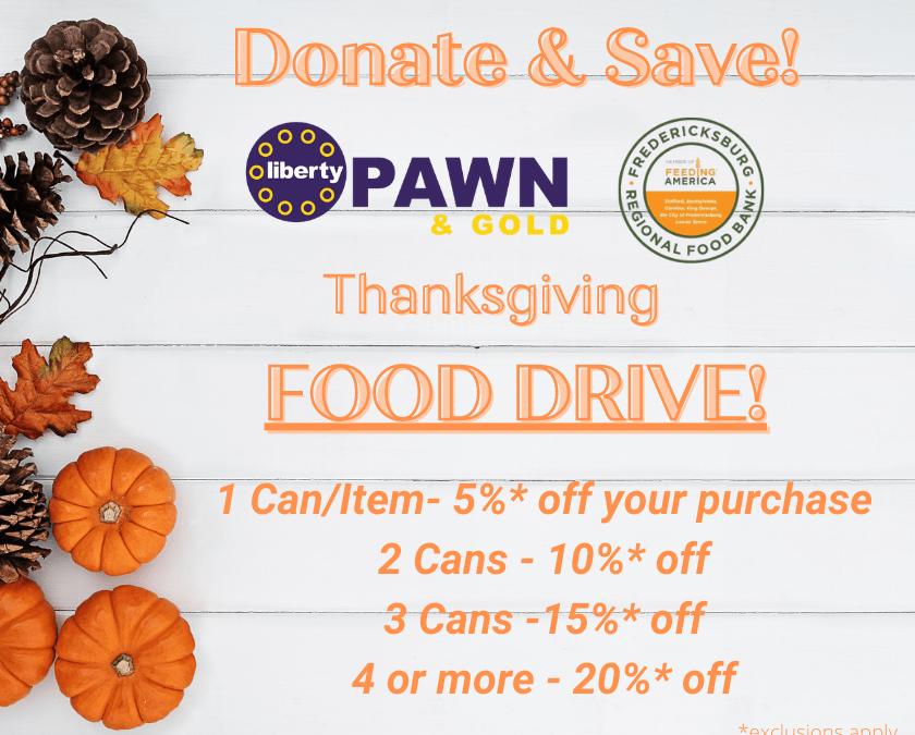 Donate & Save!