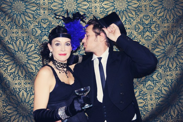 Liberty Pearl Vintage photo booth Une Soiree Inoubliable Charity event Bristol 45