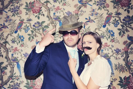Anna and Rob - Vintage Photo Booth - Hotel Endsleigh wedding