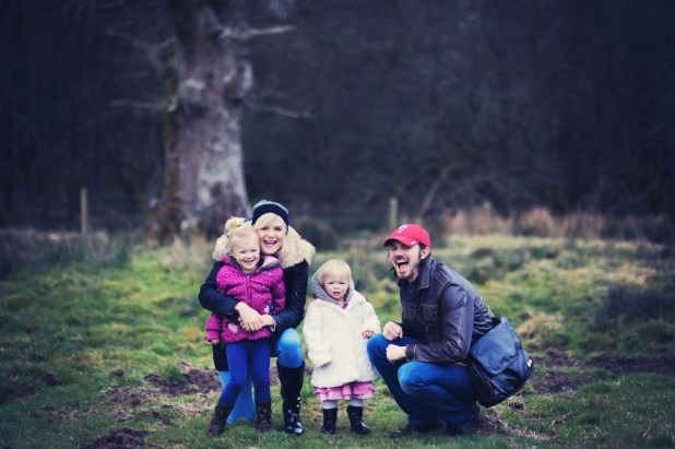 Winter family photo shoot Cornwood Plymouth Devon 27